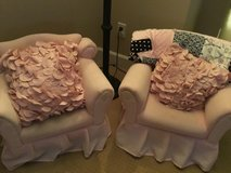 Set of 2 Pink Arm Chairs for Toddlers in Travis AFB, California