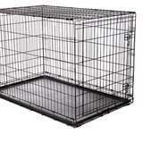 Large dog crate for crate training, tray in Camp Lejeune, North Carolina