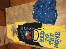 Boys 4-5 (4T 5T) sleeveless shirts and swim trunks in Chicago, Illinois