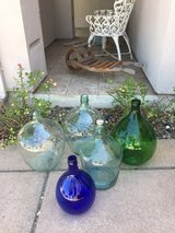 Decor from Europe... demijohns galore! in Travis AFB, California