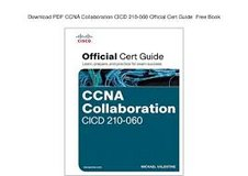 CCNA Collaboration hard cover book in Ramstein, Germany