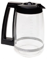 Cuisinart DCC-1200PRC 12-Cup Replacement Glass Carafe, Black in Lancaster, Pennsylvania
