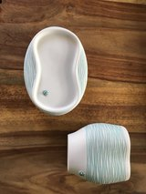 soap dish and toothbrush holder **Sold PPU ** in Palatine, Illinois