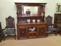 Carved Oak Green Man Sideboard Free Delivery Others Available in Lakenheath, UK