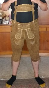 Lederhosen in Fort Drum, New York