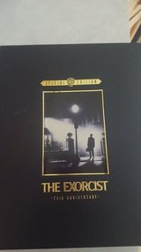 25th anniversary The Exorcist limited edition deluxe VHS box set in Plainfield, Illinois