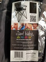 Ciao Baby travel folding high chair in Travis AFB, California