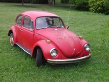 FOR SALE  1972 VOLKSWAGEN SUPER BEETLE , DAILY DRIVEN , NEEDS ENGINE... in Rolla, Missouri
