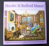 Who-done-it Murder Mystery Puzzle, 1000 Pieces - Murder at Bedford Manor in Alamogordo, New Mexico