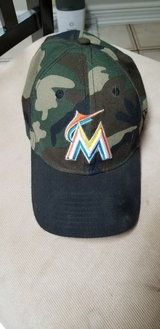 Florida Marlins Camo Hat in Shorewood, Illinois