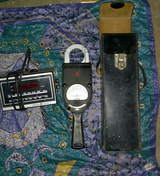 1950s GE meter with leather case ++ in 29 Palms, California