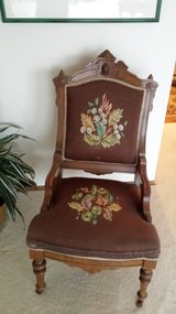 Cameo Backed antique chair in Olympia, Washington