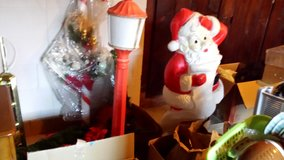 Vintage blow mold Santa and Candle in Olympia, Washington