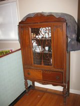1922 China Cabinet and Buffett in Fort Campbell, Kentucky