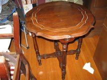 1950s parlor table in Fort Campbell, Kentucky
