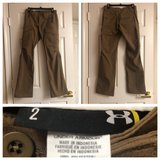 Womens Brown Underarmour Tactical Pant Size 2 in Fairfax, Virginia