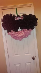 Minnie Mouse Wreath in Fort Campbell, Kentucky