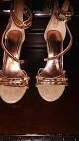 Anne Michelle Rose Gold Heels in Hopkinsville, Kentucky