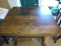 Want to trade antique all wood dining table for NICE Workbench with drawers/tool box in Alamogordo, New Mexico