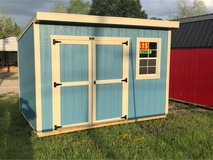 Premier 8x12 Cottage Shed in Fort Polk, Louisiana