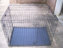 LARGE METAL FOLD UP ANIMAL CAGE/CRATE--STILL AVAILABLE in Warner Robins, Georgia