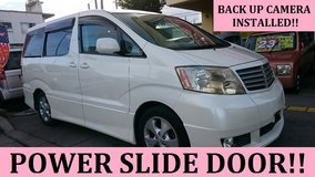 2003 TOYOTA ALPHARD G **PWR SLIDE DOOR!! BACK UP CAMERA!!** WITH NEW JCI AND 1 YR WARRANTY!! in Okinawa, Japan