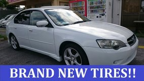 2003 SUBARU LEGACY **BRAND NEW TIRES!!** WITH NEW JCI AND 1 YR WARRANTY!! in Okinawa, Japan