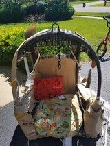 Brand new Pier One Mocha Hanging Chair in Naperville, Illinois