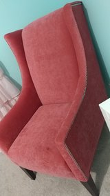 Pink arm chair in Naperville, Illinois