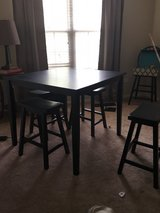 Seven Piece Pub Table Set and Two Matching Bookshelves in Naperville, Illinois