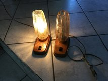 220 Volt Lamps - Pair Night Table in Ramstein, Germany