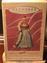 Hallmark keepsake ornament Barbie as Rapunzel doll children's collector series in Fort Knox, Kentucky