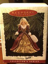 Hallmark keepsake ornament holiday Barbie collector series in Fort Knox, Kentucky