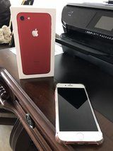 IPhone 7 RED 256GB Unlocked! in Okinawa, Japan