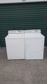 GE Profile washer & dryer (free delivery) credit card accepted in Camp Lejeune, North Carolina