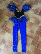 Costume Halloween Royal Blue Dance in Ramstein, Germany