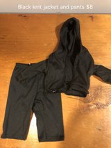 "18"" Doll clothes black jogging outfit in Naperville, Illinois"