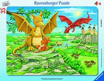 Ravensburger Dragon Families 35 Piece Tray Puzzle in Warner Robins, Georgia