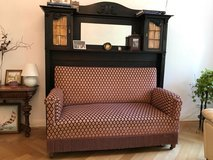 Sofa with wooden mantel in Wiesbaden, GE