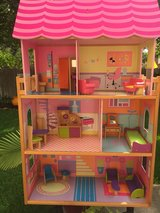 Big doll house with furniture in CyFair, Texas