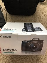 Canon EOS 70D EFS 18-135 IS STM Lens Kit and extras! in Camp Lejeune, North Carolina