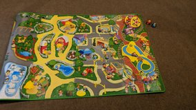 Fisher Price Little People Play mat with 2 Vehicles in Schaumburg, Illinois