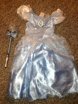 Cinderella Costume Size 4T in Westmont, Illinois