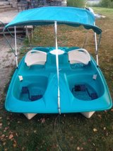 5 Person Paddle Boat with Canopy in Shorewood, Illinois