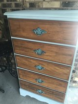 Farmhouse style 5 drawer dresser in Shorewood, Illinois