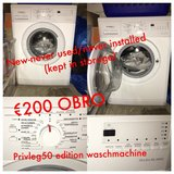 220V new washing machine, never hooked up, remained in storage in Ramstein, Germany