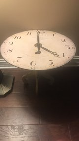 Very cool clock table in Lockport, Illinois