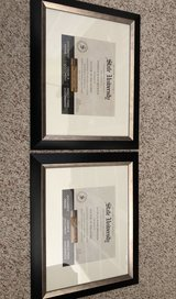 STUDIO DECOR Black & Silver Document Frame in DeRidder, Louisiana