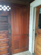 2 old doors in Plainfield, Illinois