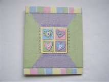 NEW Hallmark Baby Photo Album - Pink/Yellow/Green/LavenderCovers w/Extra Pages in Naperville, Illinois